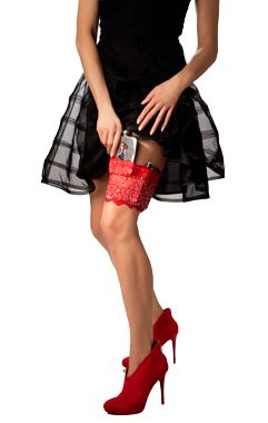 GirlyGoGarter Flask