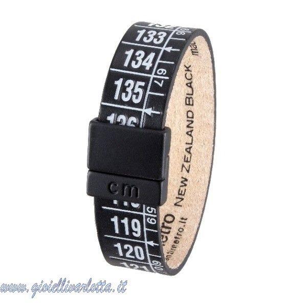 Ilcentimetro Bracciale Nero Unisex New Zealand Black http://www.gioiellivarlotta.it/product.php?id_product=1417