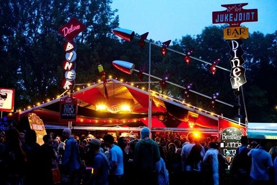 Glastonbury Festivals - Areas - Phil's Diner