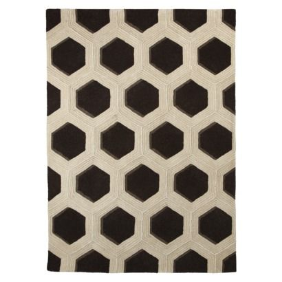 Honeycomb Area Rug, Target, 8x10, $349 // We All Know I Only
