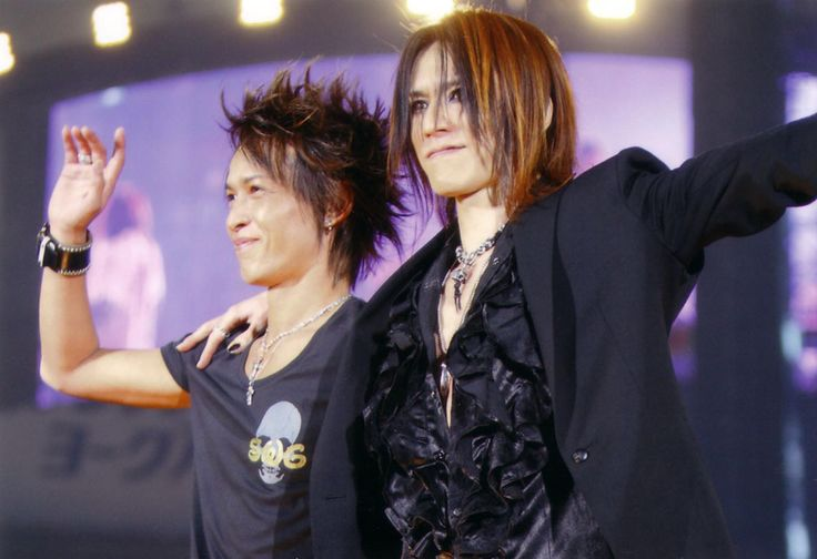 Inoran and Sugizo. Luna Sea