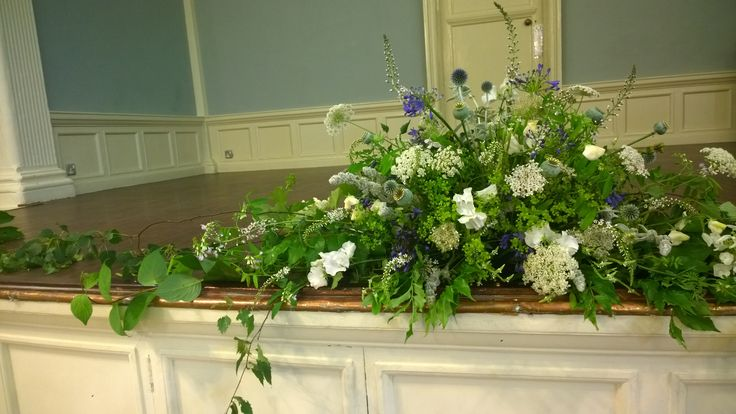Henley Town Hall - Ceremony Flowers