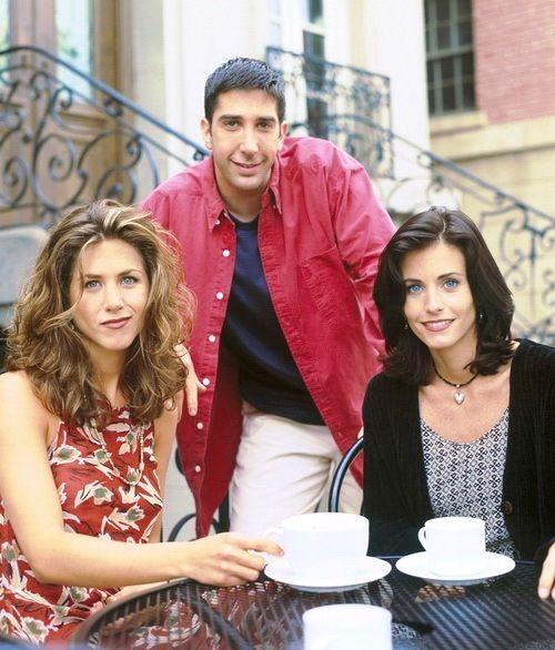 Friends - Jennifer Aniston, David Schwimmer & Courteney Cox