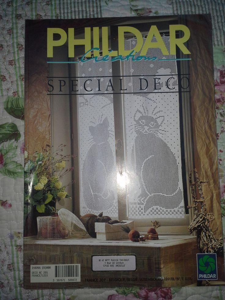 Catalogue Crochet Phildar Créations 1995 : Matériel Crochet par l-atelier-de-nanie-tricot