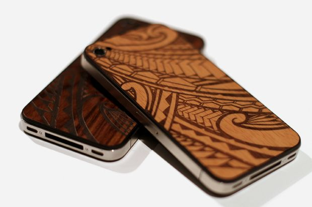 Maori style Tattoed IPhone Case by Orly