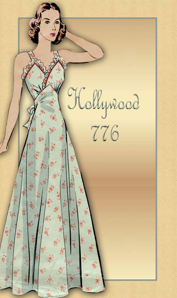 Amusing message vintage nightdress pattern assured