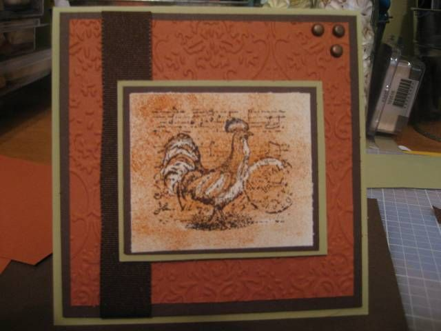Rust Rooster | SU Provencal | Pinterest | Roosters, Rust and Crafts