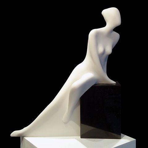 """Sasha"" cultured marble by Robert Kelly"