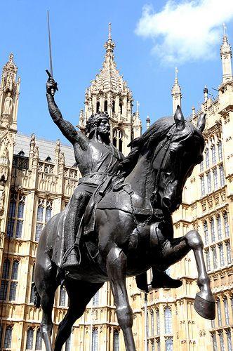 King Richard the Lionheart...