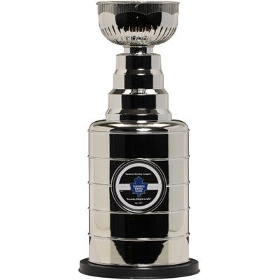 Toronto Maple Leafs Stanley Cup Replica Coin Bank