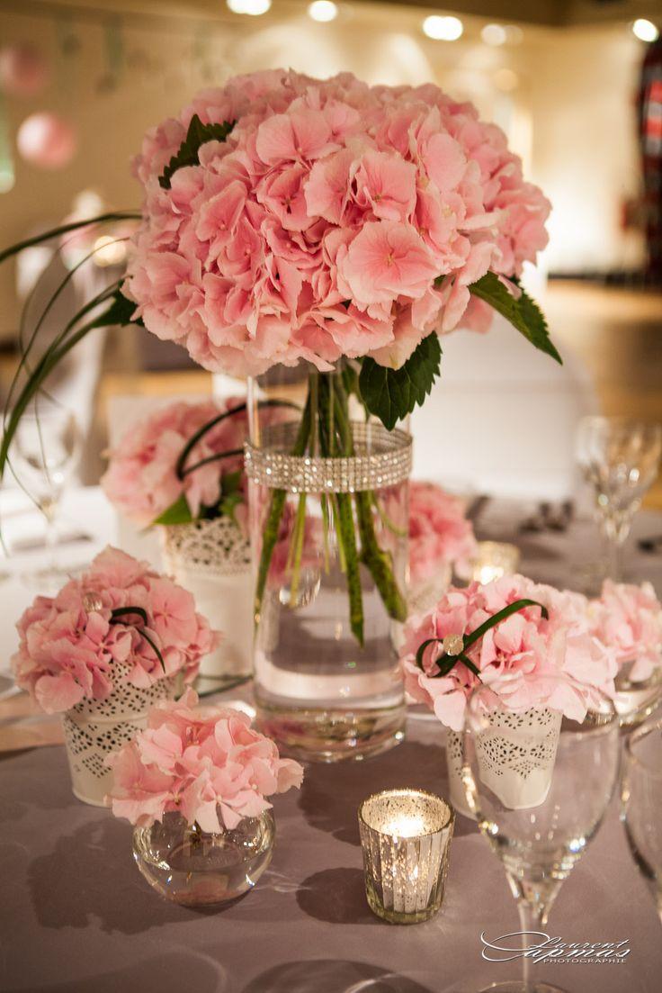 17 best ideas about wedding table flowers on pinterest - Decoration table de mariage ...