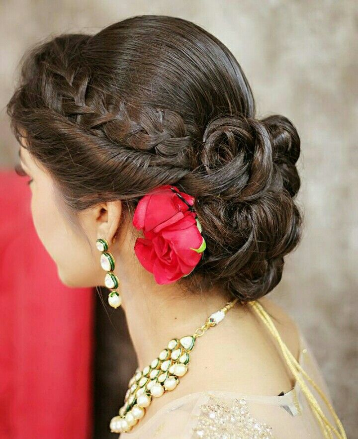 hair styles for bridals 94 best wedding hair images on blouse designs 6489