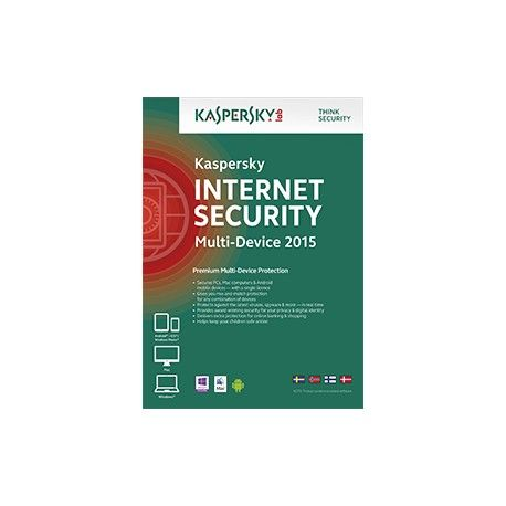 #Kaspersky Internet Security Multi Device 5 device 1 YR 2015 Our innovative hybrid protection combines the power of the cloud with our advanced technologies housed on your pc to deliver a faster, more effective response to today's complex, ever-evolving threats.  http://atomnik.com/index.php?id_product=309&controller=product