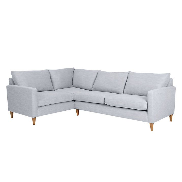 Buy John Lewis Bailey Fixed Cover LHF Corner End Sofa Online at johnlewis.com