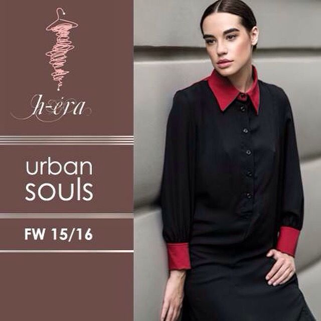 """Carnaby"" chemise from H-ēra FW15/16 ""Urban Souls"" Collection / Street fashion photography / More @ www.h-era.com"