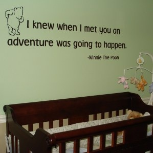 Winnie the PoohChild Room, Nurseries Wall, Sweets Quotes, Pooh Bears, Adventure Quotes, Wall Quotes, Baby Room, Winnie The Pooh, Baby Nurseries