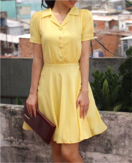 MANDY swing summer dress custom made all sizes by heartmycloset
