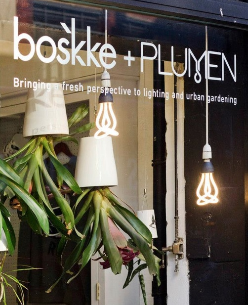 The Boskke and Plumen collaboration at the London Design Festival 2012.