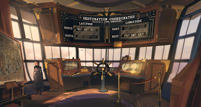 Bridge of the First Lady airship (in-game model done by Paul Presley)