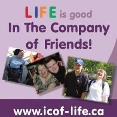 LIFE is good in ICOF  'In the Company of Friends' is a Manitoba Supported Living Option that allows people with disabilities to self-manage their funding and their lives with the help of a network of people that know them best!