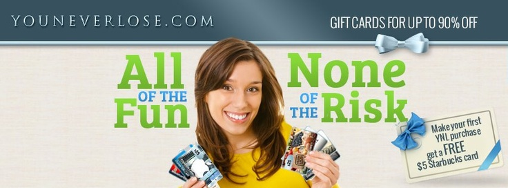 Learn more about You Never Lose and start #saving. #auction #giftcards