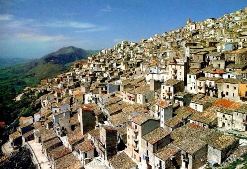 own view of Prizzi - Palermo, Sicily