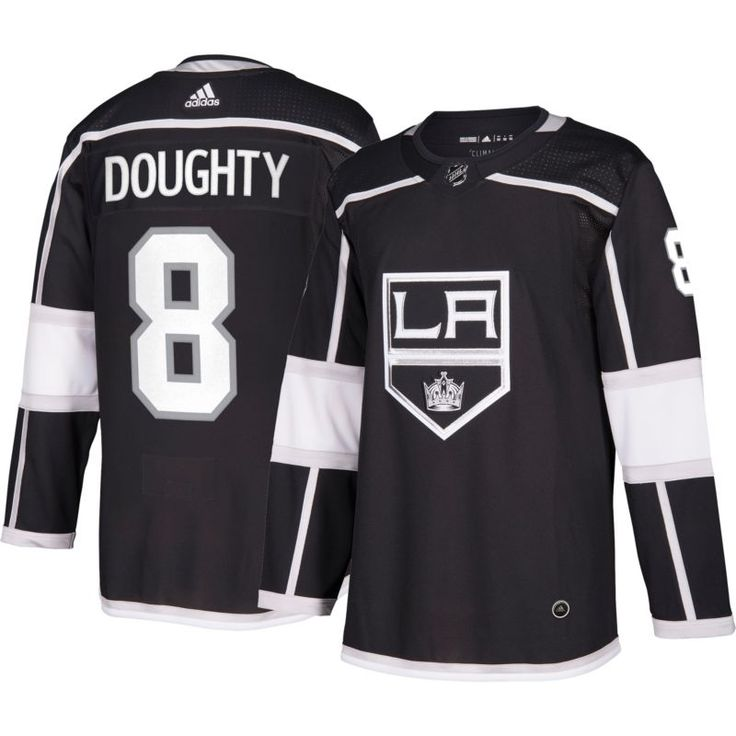 adidas Men's Los Angeles Kings Drew Doughty #8 Authentic Pro Home Jersey, Size: 56, Team