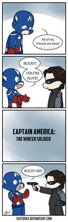 Cap's about to go on an emotional roller coaster in Captain America 2.