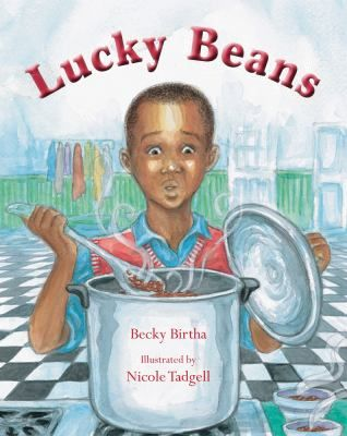 FICTION:During the Great Depression, Marshall, an African American boy, uses lessons learned in arithmetic class and guidance from his mother to figure out how many beans are in a jar in order to win her a new sewing machine in a contest.