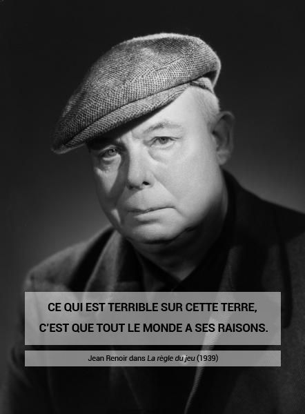 Studio Harcourt, Jean Renoir, 1955 Négatif noir et blanc, support pellicule