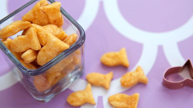 Dive Into a Bowl of Homemade Goldfish Crackers: Even as an adult, who doesn't love Goldfish crackers?