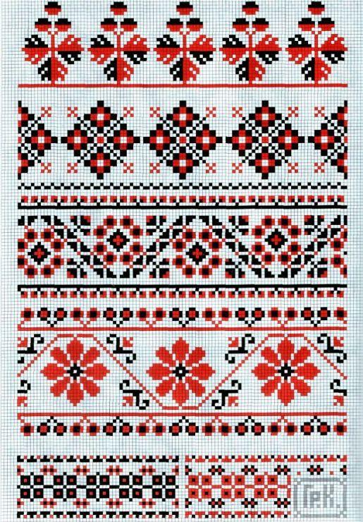 Схемы вышивания крестиком в картинках бесплатно 7