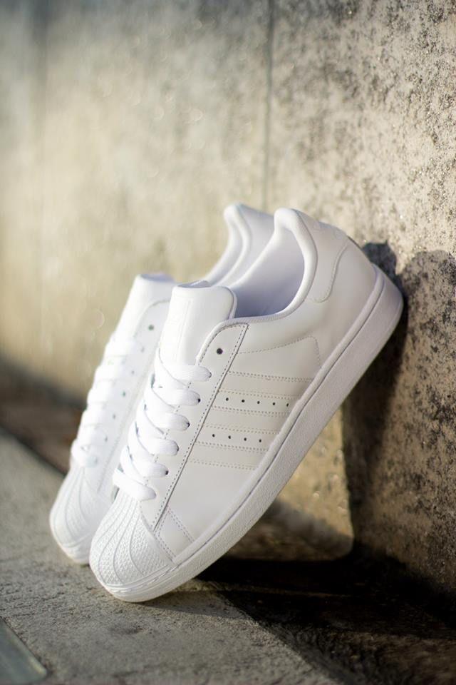 superstar all white