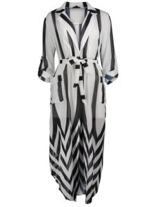 Rochia în dungi – Striped dress |