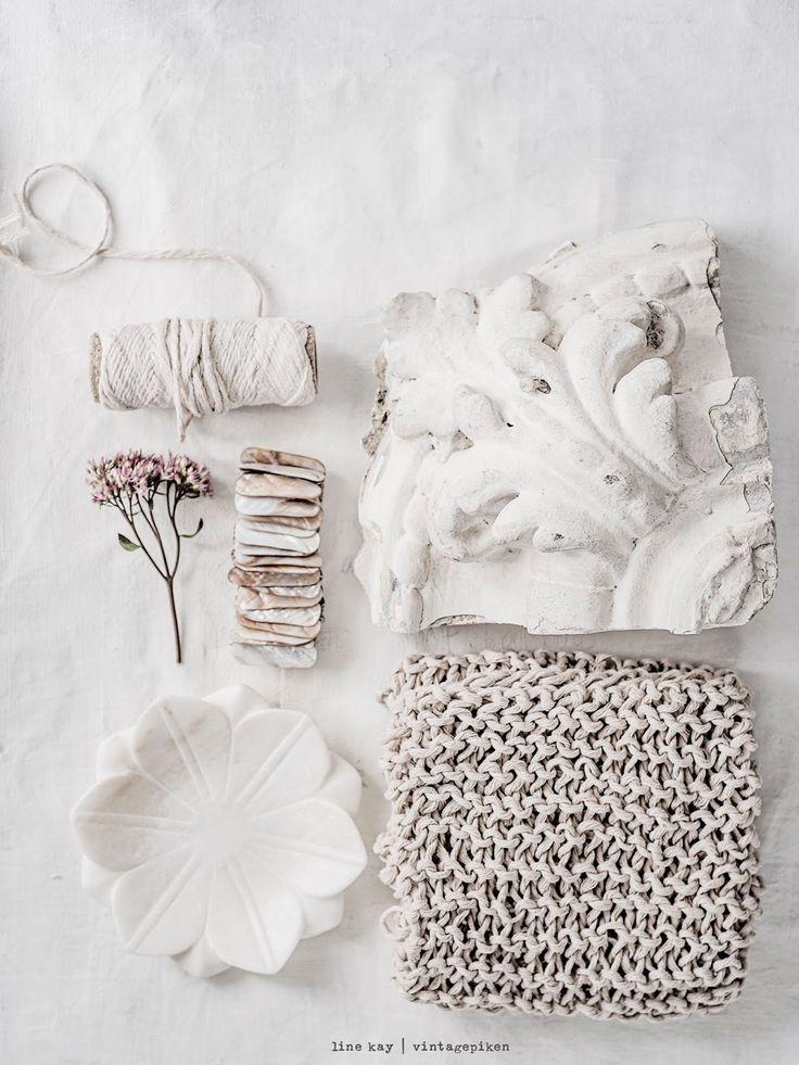 Soft earthy tones and natural materials