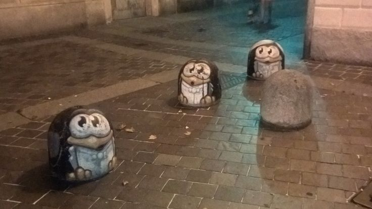 Street penguins