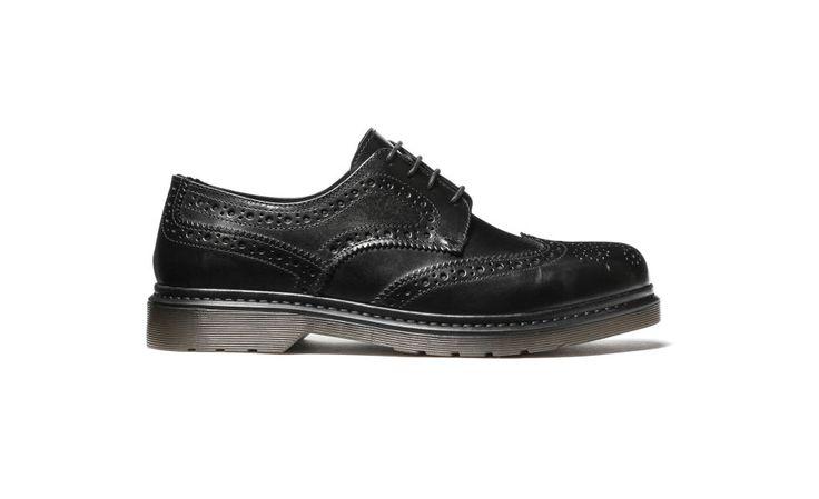 Scarpe maschili stringate in pelle. Speciale Accessori Autunno-Inverno 2015/2016: scarpe maschili