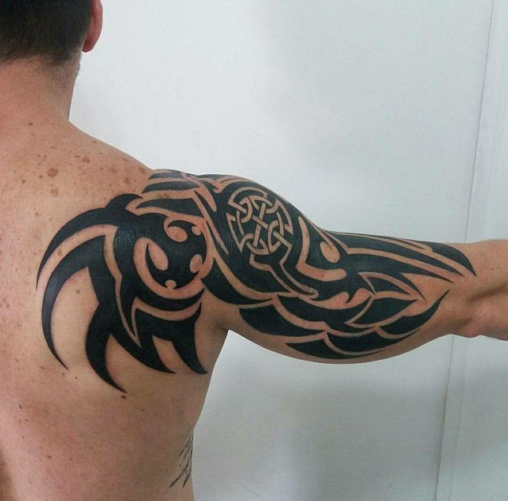 Makale Merkez Tatuajes Tribales Tatuajes Tribales Brazo Tribal Tattoo Hombro