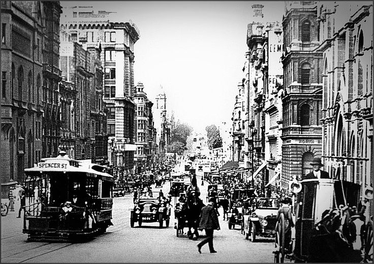 Collins Street, Melbourne, Australia