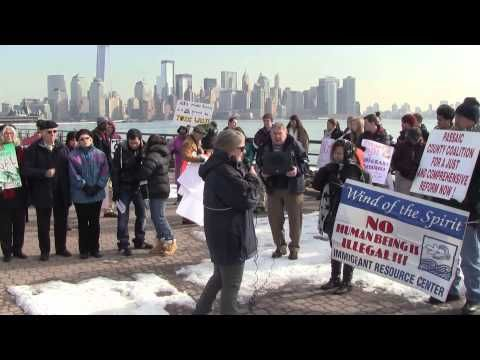 Father Gene Squeo Introduces Kathy O'Leary of Pax Christi New Jersey & Kathy Speaks Of The Meaning Of Ash Wednesday & Of Essex County, ICE, and Immigrant Detention    Clergy, Faith Leaders, Activists, Community Members & Former Immigrant Detainees Gathering on Ash Wednesday to Repent the Sin of Imprisoning Immigrants for Profit    http://www.faceboo...