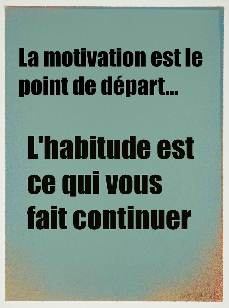 Motivation et habitude