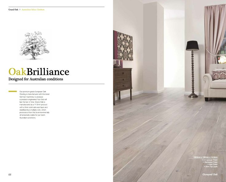 Grand Oak Timber Flooring: Grand Oak Brochure P4
