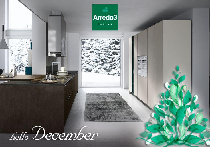 Hello December! http://www.arredo3.it/cucine-moderne/