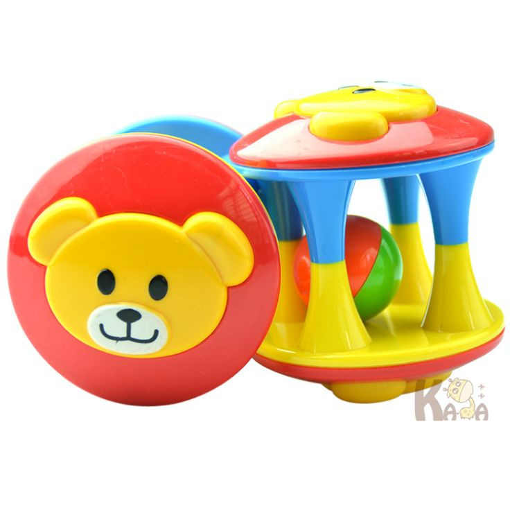 1pcs Baby Toy Fun Little Loud Jingle Ball, Ring jingle Develop Baby Intelligence,Training Grasping ability Toy For Baby 6M-1Year