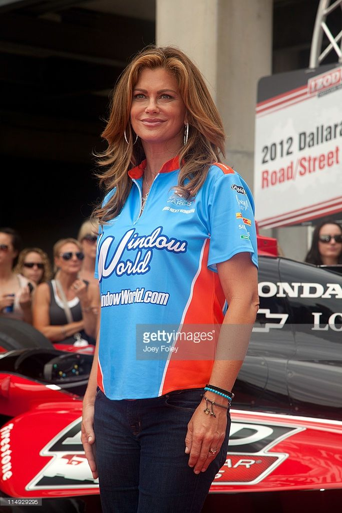 Kathy Ireland attends the 100th Anniversary Indianapolis 500 at Indianapolis Motor Speedway on May 29, 2011 in Indianapolis, Indiana.