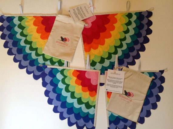 Small RAINBOW Costume wings Child 24yrs by WittleBird on Etsy, €43.00