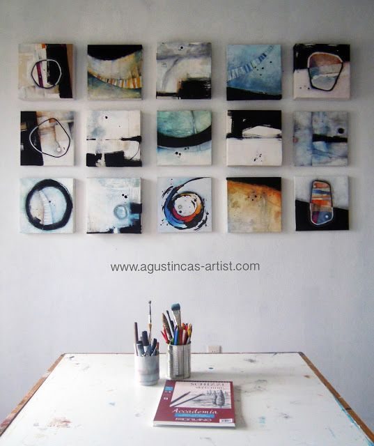 Small Abstracts | Agustin Castillo/ Artist