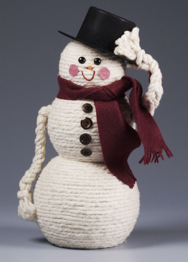 Crafts With Wooden Snowman Head Patterns