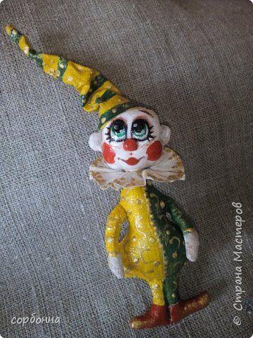 Куклы Новый год Шитьё МК по созданию игрушек на елку в технике грунтованный текстиль Ткань фото 10
