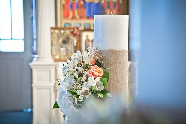 Traditional Greek candles for wedding ceremony from www.sensyle.com